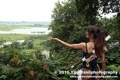 Tomb Raider Shoot with Annick 21 (berserker244) Tags: yggdrasilphotography60072016 guerrillaphotography yggdrasilphotography evandijk annick annickscosplay laracroft tombraider riseofthetombraider grebbeberg rhenen