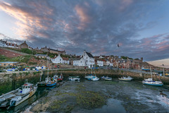 Crail harbour, East neuk of Fife, Scotland (stuartallan38) Tags: nikond7100 wideangle sigma1020 harbour crail boats scotland