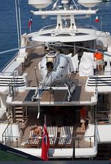 Pijos (a_marga) Tags: cinqueterre laspezia italia italy liguria costa mar sea patrimoniodelahumanidad unesco worldheritage pijos ricos yate helicoptero yacht helicopter posh rich