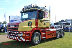 Scania 144G 'Quinto' reg Y945 GHC (erfmike51) Tags: scania144g artic truck lorry v8 quinto truckfestnorwich
