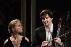 Julia Fischer and Daniel Mller-Schott (jennus) Tags: danielmllerschott juliafischer violine cello konzert musik classical genre festspiele