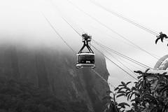 Po de Aucar - Sugarloaf - RJ (lifeideas) Tags: po de aucar rio janeiro cidade maravilhosa pb black white brazil mountain sugarloaf
