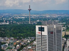 Frankfurt_Ausblick Maintower 2016 (16) (mheckerle) Tags: frankfurt stadt city 2016 architektur architecture view maintower panorama