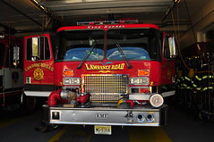 Lawrence Road Fire Company Rescue 22 (Triborough) Tags: nj newjersey mercercounty lawrencetownship lawrenceville lawrenceroadfirecompany firehouse firetruck fireengine rescue rescue22 kme