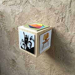Eames Cubed (Artotem) Tags: cubed cubism squared art arte charleseames eames