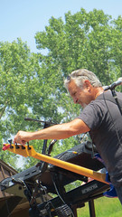 childrens farm at the center. june 2015 (timp37) Tags: palos park june 2015 childrens farm center illinois guitar player music band
