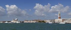 Venice Bacino San Marco (Svein K. Bertheussen) Tags: panorama venezia venice sanmarco palazzoducale campanile santamariadellesalute sea hav sj lagoon lagune bter boats vaporetti