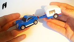 How to Build a Small Blue Car with Caravan (MOC) (hajdekr) Tags: lego toy vehicle automobile car moc myowncreation simple easy caravan travel retro vintage traveling wheel wheels howto instructions manual tuto tutorial buildingguide guide tip help assemblyinstructions buildinginstructions camp camping tramp