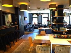 HOTEL CAFE- NORTH HOLLAND (carolynthepilot) Tags: hotelvondel northholland amsterdam hotel cafe restaurant fooderty menu lounge carolynbistline goldenwings explore vacation holiday city jordaan