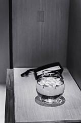 [357] - interior spaces (1) (jathdreams) Tags: vintage vignette minimal objects stilllife project365 nikon nikond5100 50mm 50mmf14d amritsar india northindia travel travelphotography incredibleindia radissonblu hotel interior interiordecor monochrome blackandwhite bnw bowl