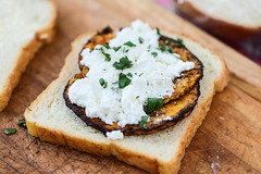 Grilled Cheese with Butternut Squash (joshbousel) Tags: butternutsquash cheese eat food fruit grilledcheese grilledcheesewithbutternutsquash herb ricotta sage sandwich squash