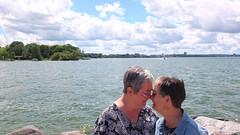 (sfrikken) Tags: lynne linda madison lake mendota tenney park jetty locks