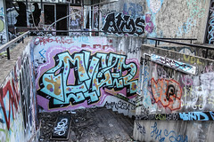 Ekaer (Voodoooz) Tags: urbex urban explore abandoned drain brisbane city queensland australia tourist water street river house me red blue white tree sky night art light summer old hot sexy babe travel tourer adventure camera building extreme danger photography flashback indoor architecture beam outdoor