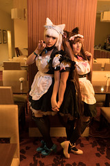 Just Another Day At the Cafe (UnsignedZero) Tags: california celebrationevent cosplaytype downtownsacramento in indoor indoors inside item nekopara object rowynrowyned sacanime sacramentocounty sacramentoresidenceinn