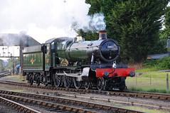 "GWR No 7802 ""Bradley Manor"" - Kidderminster (GreenHoover) Tags: severnvalleyrailway svr steam steamloco steamlocomotive steamengine gwr gwrsteamengines 7802 manor bradleymanor kidderminster"