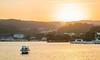 Matsushima (Yuri Figuenick) Tags: matsushima japan miyagi tohoku landscape sky ocean water sunset canoneos5dmarkiii island islands famousplace nihonnsankei boat lensflare