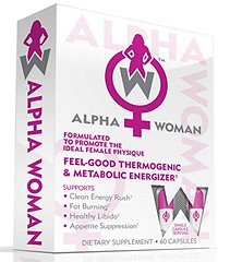 ALPHA WOMAN Fat Burner - The Best Weight Loss Supplement for Women, The World's First Multipurpose Feel Good Thermogenic Energizer, Libido Booster, Appetite Suppressant & Mood Enhancer, 60 Capsules (discoverdoctor) Tags: alpha appetite best booster burner capsules energizer enhancer feel first good libido loss mood multipurpose supplement suppressant thermogenic weight woman women worlds