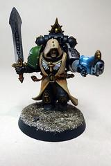 Zameon Gydrael, Company Champion (Bronzetooth) Tags: warhammer 40k space marine deathwatch overkill zameon gydrael company champion