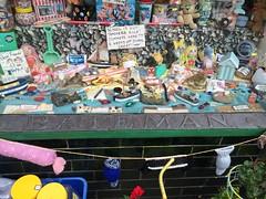 School Is Out! (Munki Munki) Tags: thirsk nyorks schoolisout sweetshop batemans leadsign tiles knittedsweets windowdisplay