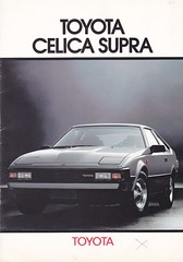MA61 TOYOTA CELICA SUPRA (celicacity) Tags: ma61 toyota celica supra colletteparis15000exno82puf0100082rc78b532 brochure 1982
