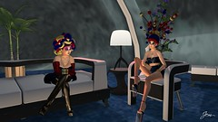 Club Night 1 (Jem Sternhall) Tags: asteria bender eleganceboutique fashion fasterpussycat glamaffair glamorize laboheme maitreya maxigossamer mua purplemoon renegade secondlife slackgirl slink zibska