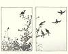 Unknown bird (Japanese Flower and Bird Art) Tags: bird buncho tani nanga woodblock picture book japan japanese art readercollection