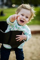 The Bliss (::: M @ X :::) Tags: mora hamaca swing game baby girl jugo plaza park green joy alegría felicidad happiness happy daughter hija people outdoors outdoor fun fav10 fav20 fav30 fav40 fav50 fav60