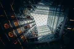 Deep impact (Panda1339) Tags: uk futuristic architecture openhouselondon scifi london light 2016 20 triton street nikon 14mm