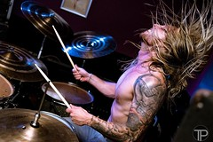 JR of Fahran. Doing his thing 🔥🎶.                                         #2470 #tamron #nikond750 #nikonphotography #nikon #drummer #rock #metal #hair #topless #tatoo #concert #gig #music #concertphotography #gigphotography #musicphotography # (TimPockney) Tags: instagramapp square squareformat iphoneography uploaded:by=instagram