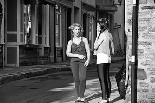 Girls on the corner