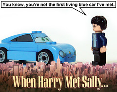 When Harry Met Sally... (Oky - Space Ranger) Tags: cars movie poster funny lego harry potter disney sally pixar when met