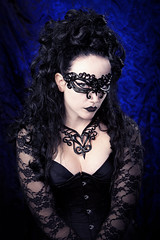 the mask (Mark Perry Images) Tags: fashion dark gothic jewellery latex alternative