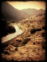 Tunnel Drive Pass (Photo Captured) Tags: railroad nature water river landscape colorado pass rr canoncity tunneldrive flickrandroidapp:filter=none
