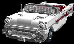 Pontiac 1957 Star Chief Convertible Coupe (lego911) Tags: auto classic hardtop car star model lego render chief convertible chrome 1950s 1957 pontiac coupe challenge v8 fins 60th cad lugnuts 59th moc ldd miniland lego911 niftyfiftiesdaddyo