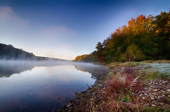 Lake Needwood, Fall, Fog (KellarW) Tags: fog md october earlymorning maryland lakeneedwood derwood