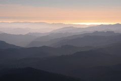 Mountain Layers (benalesh1985) Tags: oregon maryspeak wilamette valley alsea coast coastal mountain range pacific ocean sunset dusk layer layers shadows philomath corvallis marys peak