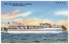 florida ships postcards tichnorbrothers