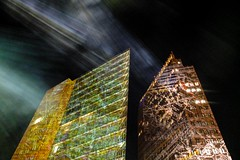 Berlin Festival of Lights 2012: Potsdamer Platz (Lens Daemmi) Tags: berlin festival germany lights potsdamerplatz festivaloflights lichter 2012 fol