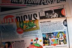 New York Post Hot Picks (BilliKid) Tags: streetart backboard graffiti exhibition license cern nba allstar shiro mvp newyorkpost skewville cope2 mbw chrisstain urny davidcooper billikid renegagnon mrbrainwash publicworksdepartment thedudecompany hotpicks kingofthecourt officiallysanctioned joeiurato ewokone5mh artofbasketball popinternationalgallery jackaguire
