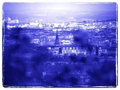 Vienna - Detail (hedbavny) Tags: vienna wien city roof urban house blur ava austria town sterreich blurry fenster haus stadt aussicht turm dach bltter kirchturm unschrfe wilhelminenberg fernsicht paulinensteig
