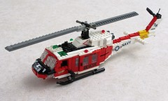 "NAS Fallon ""Longhorns"" HH-1N Iroquois (4) (Mad physicist) Tags: lego bell huey helicopter usnavy uh1 hh1n"