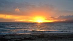 Fishing Rod (Diekk) Tags: sunset sea espaa naturaleza sun nature water landscape island fishing spain nikon mediterranean mediterraneo paisaje rod mallorca palma pesca isla pescador caa d3100