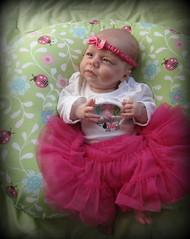 The perfect shot (Gypsysoul_) Tags: portrait hannah newborn ladybug editing pinkbow pinktutu