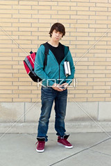 handsome teenage boy holding books (elisapeople2012) Tags: boy portrait male smart fashion wall modern standing photography book concentration student education day fulllength handsome books highschool trendy learning teenager headphones daytime oneperson textbooks frontview caucasian schoolbag youthculture casualclothing colorimage universitystudent lookingatcamera 1617years oneboyonly oneteenageboyonly personineducation teenageronly