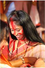 Play Red (saish746) Tags: red india lady god bangalore bong hindu hinduism kolkata bi puja durga 2012 vermillion bongs godess bengali bihar kumkum bangali pujo sindhur sindoor sindur khela vijayadashami mahaashtami mahanavamiandbijoyadashami2008boringroadpatnabiharindia saish746 bijoydashmi bijayadashmi bengalyee bws2012sindoor
