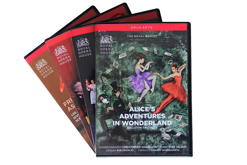 Up to 50% off opera and ballet DVDs on Royal Opera House website