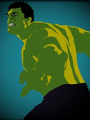 Avengers #1 - The Hulk (CharlieNovis) Tags: green art poster super pop popart hero superhero assemble hulk marvel avengers novis thehulk avengersassemble