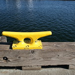 Yellow rope cleat, blue water thumbnail