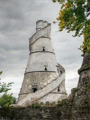The Wonderful Barn (bbusschots) Tags: ireland tower history clouds dovecote kildare localhistory historicbuilding leixlip photomatix tonemapped topazadjust