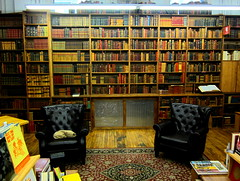 "USA New York the rare bookroom at the Stand Bookstore in Union Square - ""18 miles of books"" (moreska) Tags: street new york nyc usa dusty apple leather strand america vintage shopping square reading us cozy big cool warm manhattan union north hipster landmarks books oldschool bookstore study faves 14th shelves rare ambience woodfloor browsing volumes tomes musty bibliophiles parlorroom mustsees"